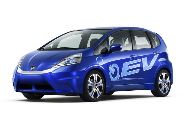 ホンダ フィット EVコンセプト 画像