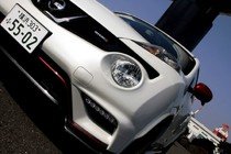 日産ジューク ニスモ(NISMO)新車試乗評価フロント