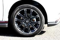 日産ジューク ニスモ(NISMO)新車試乗評価ホイール