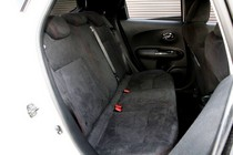 日産ジューク ニスモ(NISMO)新車試乗評価リヤシート