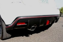 日産ジューク ニスモ(NISMO)新車試乗評価 ディフューザー
