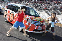 「NISMO FESTIVAL at FUJI SPEEDWAY 2010」 国民的大人気アニメ「ONE PIECE(ワンピース)」とのコラボ企画