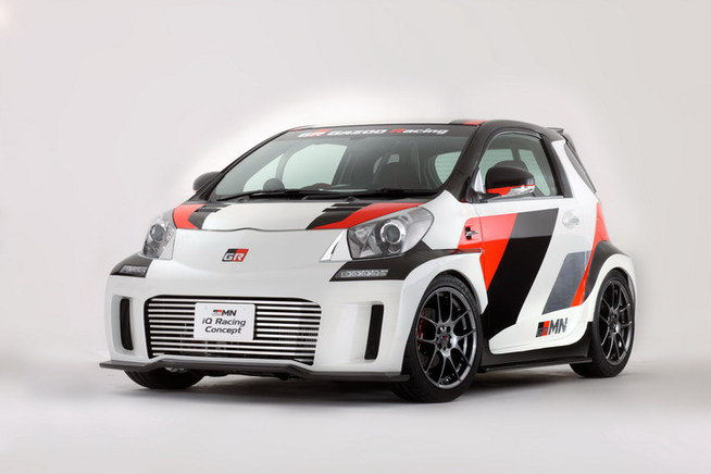 GAZOO Racing tuned by MN 参考出品車「GRMN iQ Racing Conc...