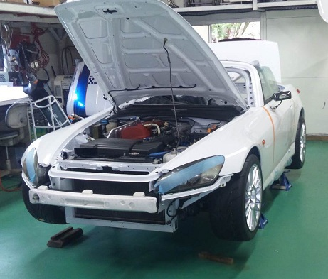 Nur24h仕様HONDA S2000製作中 Nur24-Project Logo Nurburgr...