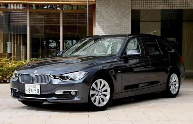 BMW 320d BluePerformanceツーリングの走り&燃費、...