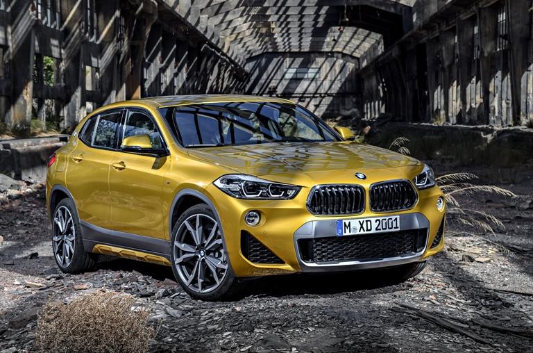 BMW X2新車情報・購入ガイド「超個性派デザインで勝負!」