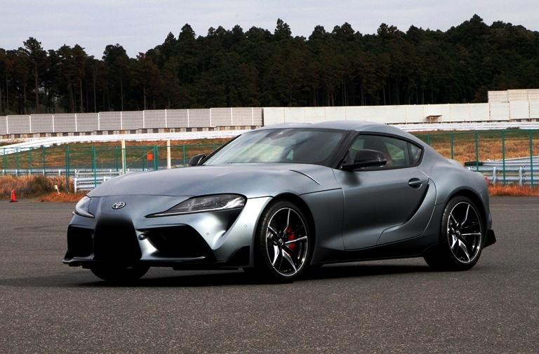 17年振り5代目スープラが初公開 トヨタは、GAZOO Racing(ガズー レーシン...