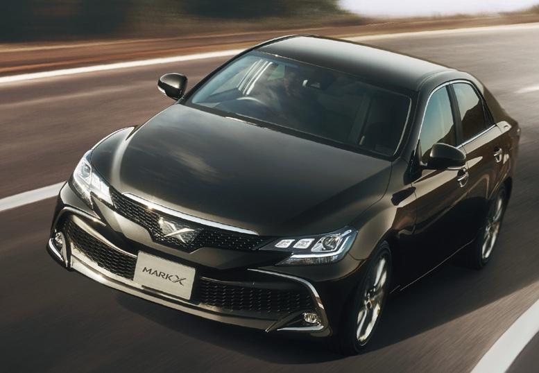 トヨタ マークX、50年以上の歴史に幕 トヨタは、中型セダン「マークX」の生産を201...
