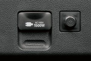 プリウスAC100V・1500Wアクセサリーコンセント