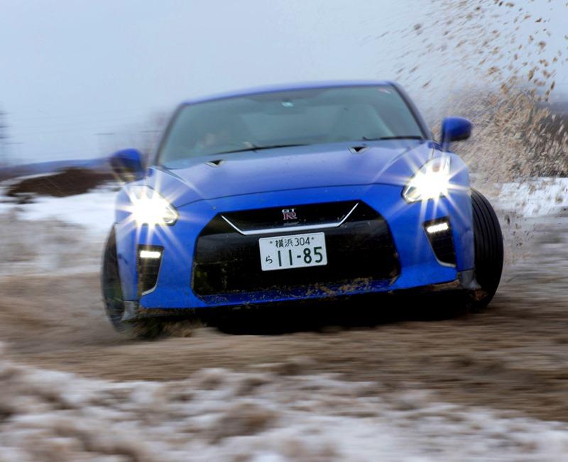 日産車、雪上試乗評価 どのモデルもコントロールしやすく楽しい...