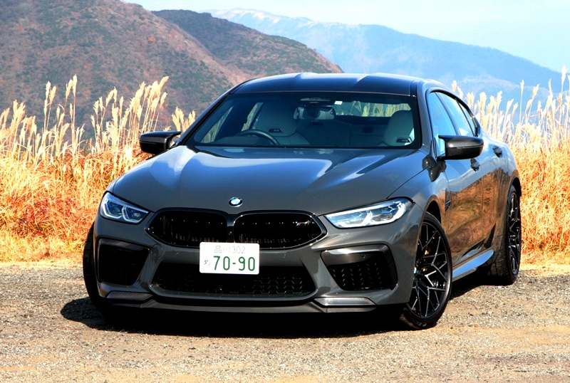 BMW M8グラン クーペ COMPETITION 試乗記・...