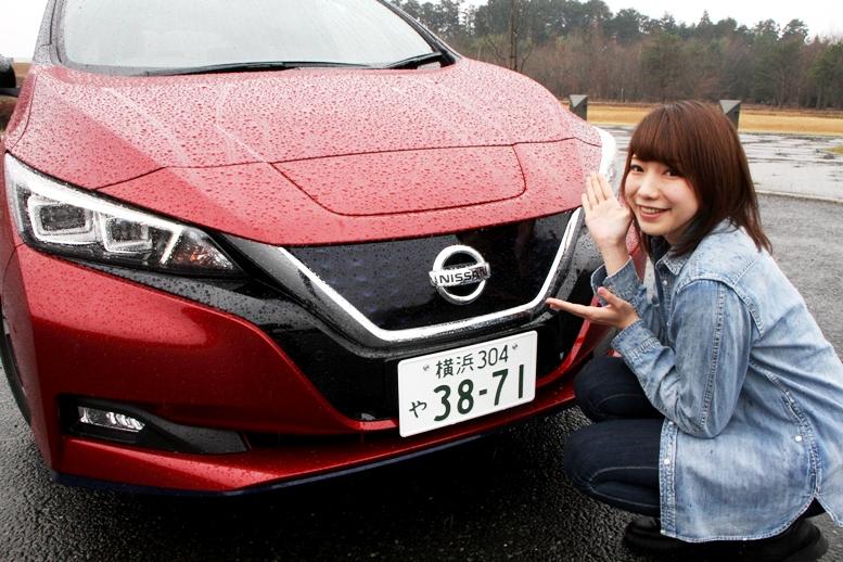 バイク&クルマ好き20歳台女子が初のEV、日産リーフe+(イー・プラス)...