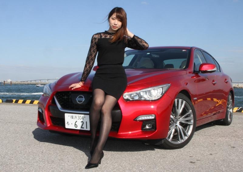 ■日産スカイラインハイブリッドに試乗した一般女性のプロフィール 齋藤眞琴...
